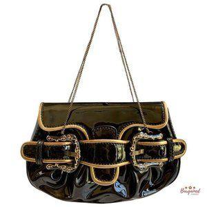 Authentic FENDI  Mini B Bis Evening Bag 8BP024